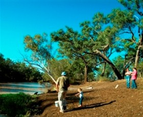 Charleville - Dillalah Warrego River Fishing Spot - Accommodation Coffs Harbour